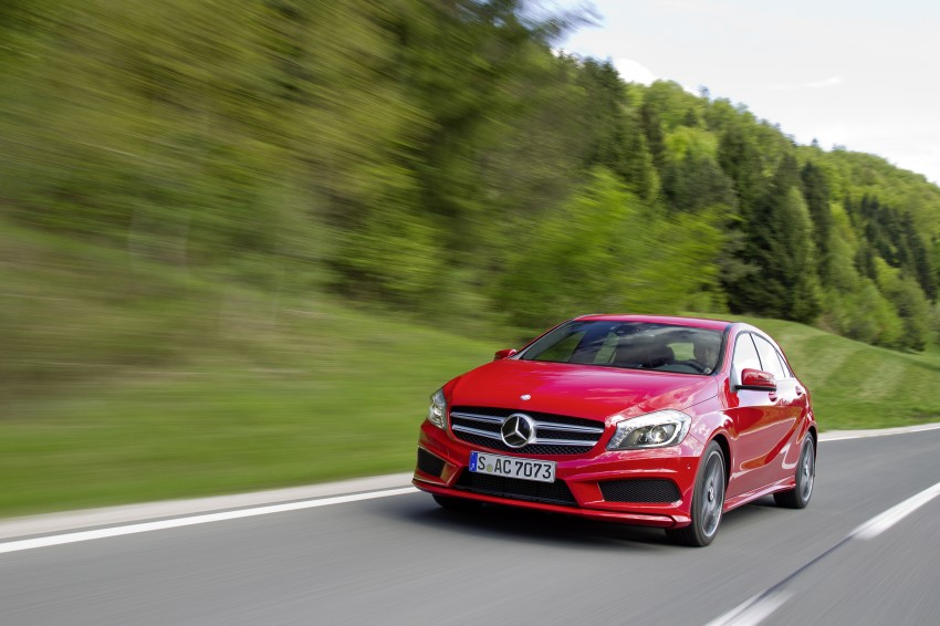 DRIVEN: W176 Mercedes-Benz A-Class – we sample the A200, A250 and A250 Sport in Slovenia Image #121755