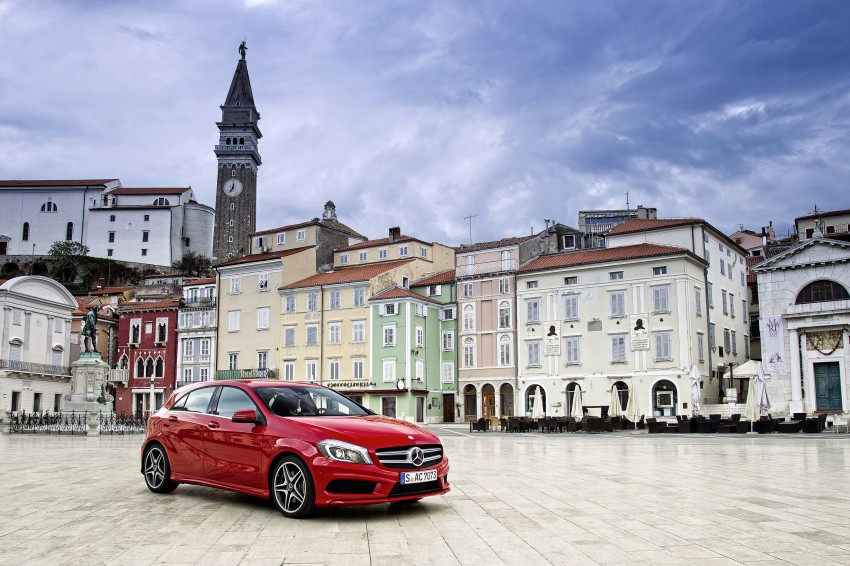 DRIVEN: W176 Mercedes-Benz A-Class – we sample the A200, A250 and A250 Sport in Slovenia Image #121756