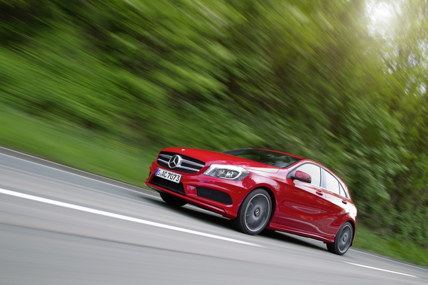 DRIVEN: W176 Mercedes-Benz A-Class – we sample the A200, A250 and A250 Sport in Slovenia Image #121757