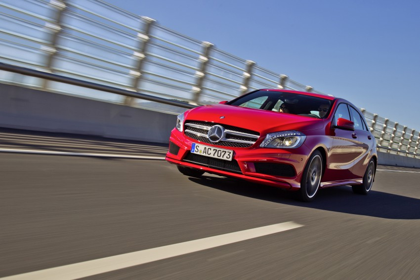 DRIVEN: W176 Mercedes-Benz A-Class – we sample the A200, A250 and A250 Sport in Slovenia Image #121759