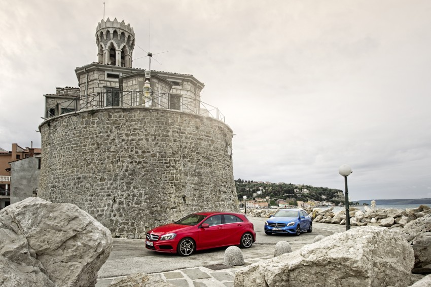DRIVEN: W176 Mercedes-Benz A-Class – we sample the A200, A250 and A250 Sport in Slovenia Image #121760