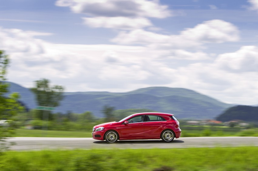 DRIVEN: W176 Mercedes-Benz A-Class – we sample the A200, A250 and A250 Sport in Slovenia Image #121762