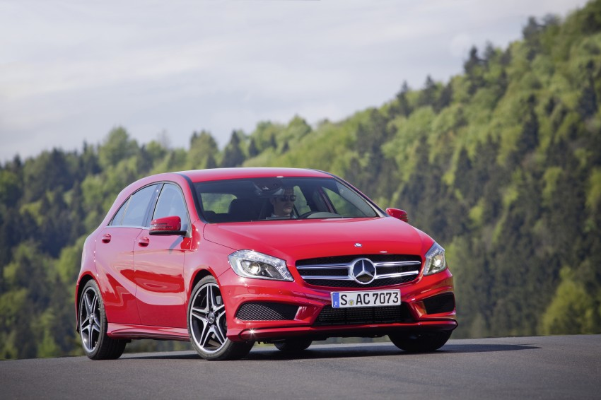 DRIVEN: W176 Mercedes-Benz A-Class – we sample the A200, A250 and A250 Sport in Slovenia Image #121763