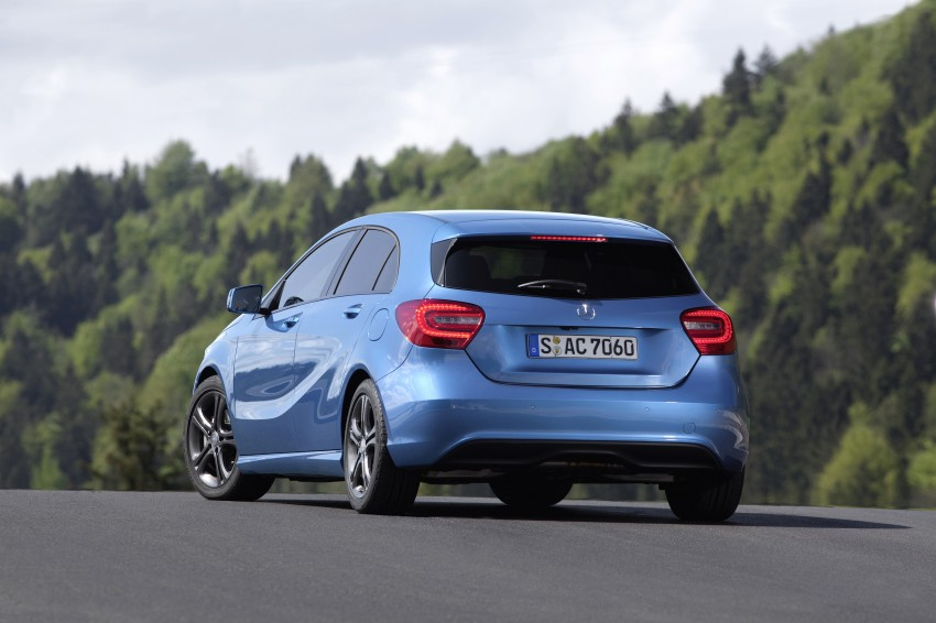 DRIVEN: W176 Mercedes-Benz A-Class – we sample the A200, A250 and A250 Sport in Slovenia Image #121764