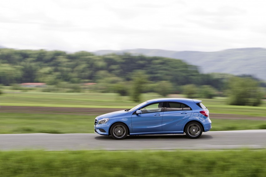 DRIVEN: W176 Mercedes-Benz A-Class – we sample the A200, A250 and A250 Sport in Slovenia Image #121765