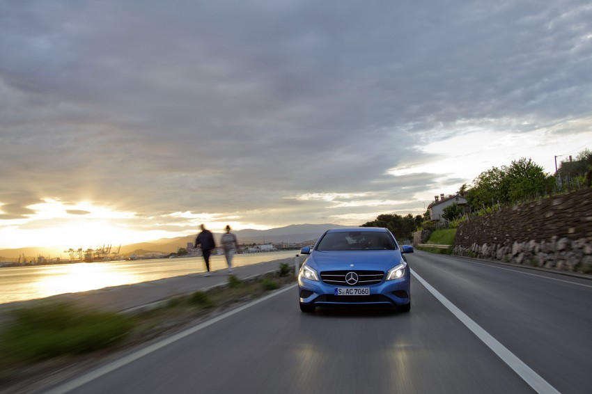 DRIVEN: W176 Mercedes-Benz A-Class – we sample the A200, A250 and A250 Sport in Slovenia Image #121766