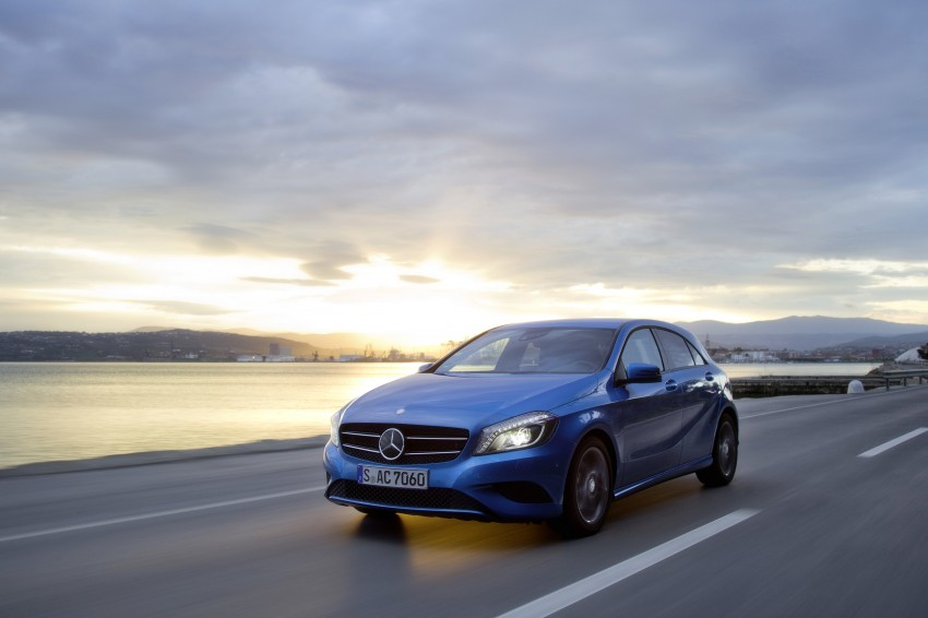 DRIVEN: W176 Mercedes-Benz A-Class – we sample the A200, A250 and A250 Sport in Slovenia Image #121767