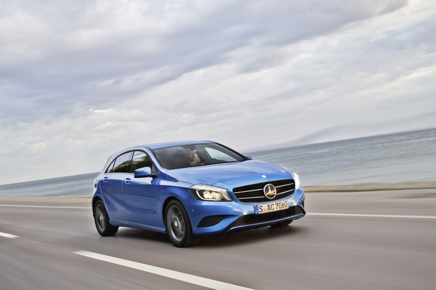 DRIVEN: W176 Mercedes-Benz A-Class – we sample the A200, A250 and A250 Sport in Slovenia Image #121768