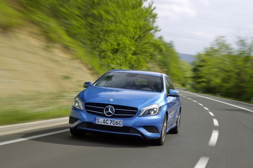 DRIVEN: W176 Mercedes-Benz A-Class – we sample the A200, A250 and A250 Sport in Slovenia Image #121769