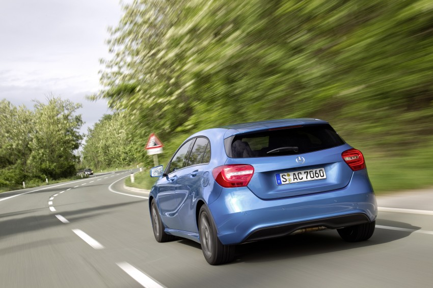 DRIVEN: W176 Mercedes-Benz A-Class – we sample the A200, A250 and A250 Sport in Slovenia Image #121770