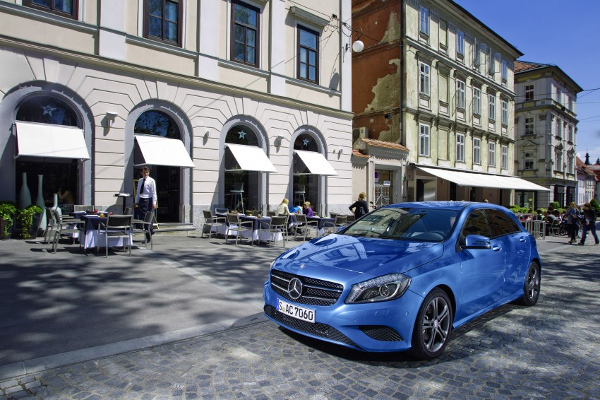 DRIVEN: W176 Mercedes-Benz A-Class – we sample the A200, A250 and A250 Sport in Slovenia Image #121772
