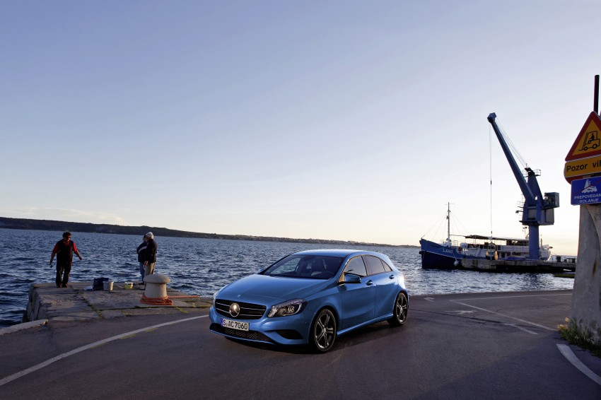 DRIVEN: W176 Mercedes-Benz A-Class – we sample the A200, A250 and A250 Sport in Slovenia Image #121773