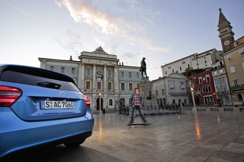 DRIVEN: W176 Mercedes-Benz A-Class – we sample the A200, A250 and A250 Sport in Slovenia Image #121774