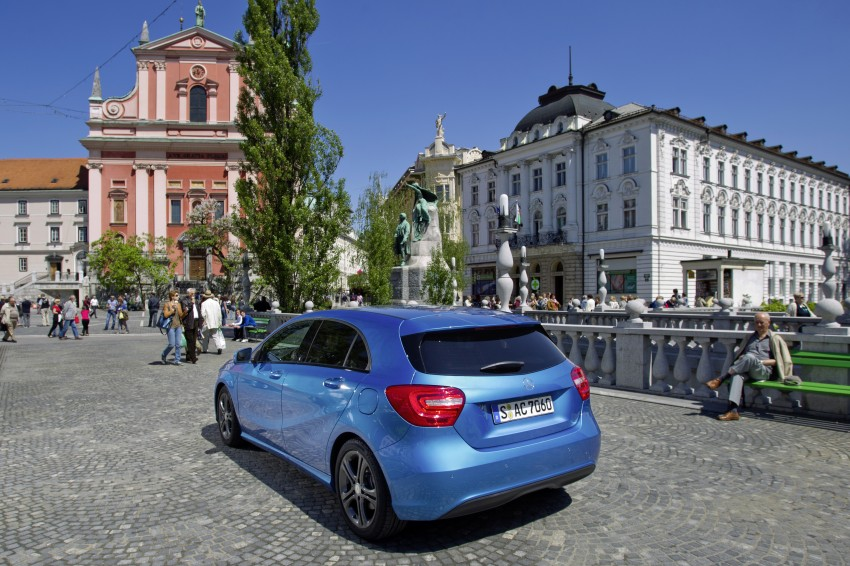 DRIVEN: W176 Mercedes-Benz A-Class – we sample the A200, A250 and A250 Sport in Slovenia Image #121775