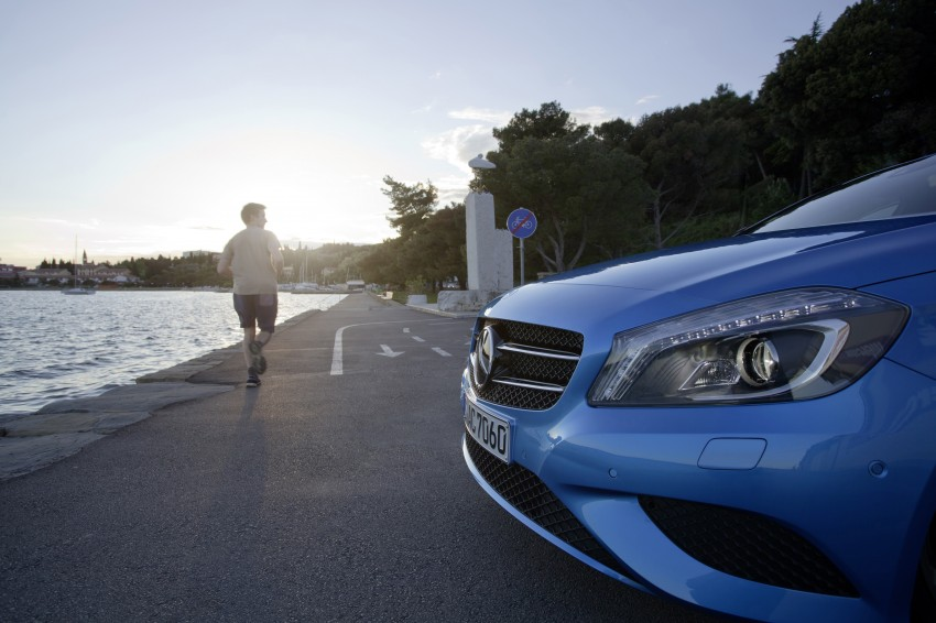 DRIVEN: W176 Mercedes-Benz A-Class – we sample the A200, A250 and A250 Sport in Slovenia Image #121777