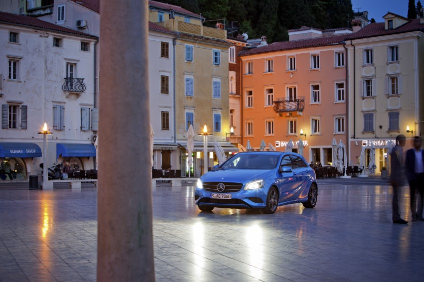 DRIVEN: W176 Mercedes-Benz A-Class – we sample the A200, A250 and A250 Sport in Slovenia Image #121778