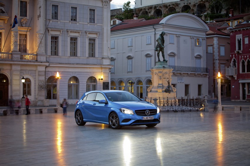 DRIVEN: W176 Mercedes-Benz A-Class – we sample the A200, A250 and A250 Sport in Slovenia Image #121779