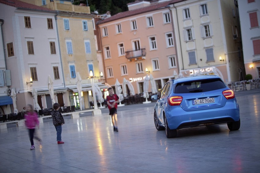 DRIVEN: W176 Mercedes-Benz A-Class – we sample the A200, A250 and A250 Sport in Slovenia Image #121780