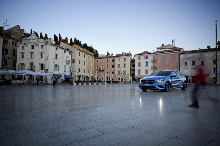 DRIVEN: W176 Mercedes-Benz A-Class – we sample the A200, A250 and A250 Sport in Slovenia Image #121782