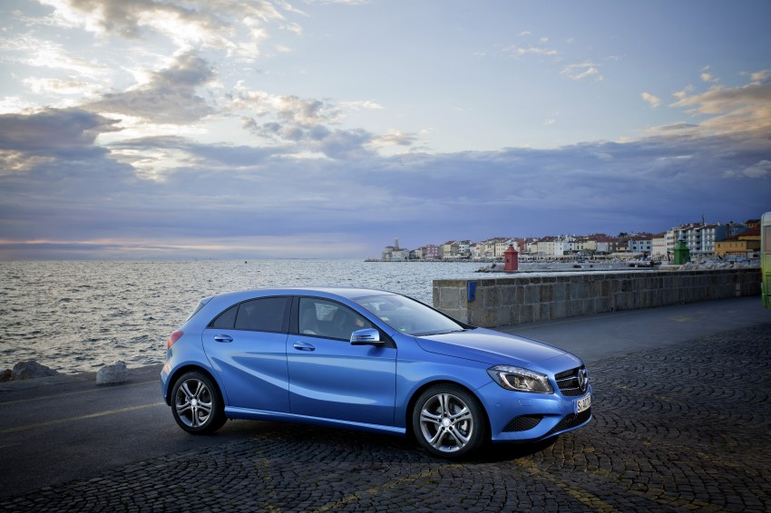 DRIVEN: W176 Mercedes-Benz A-Class – we sample the A200, A250 and A250 Sport in Slovenia Image #121783