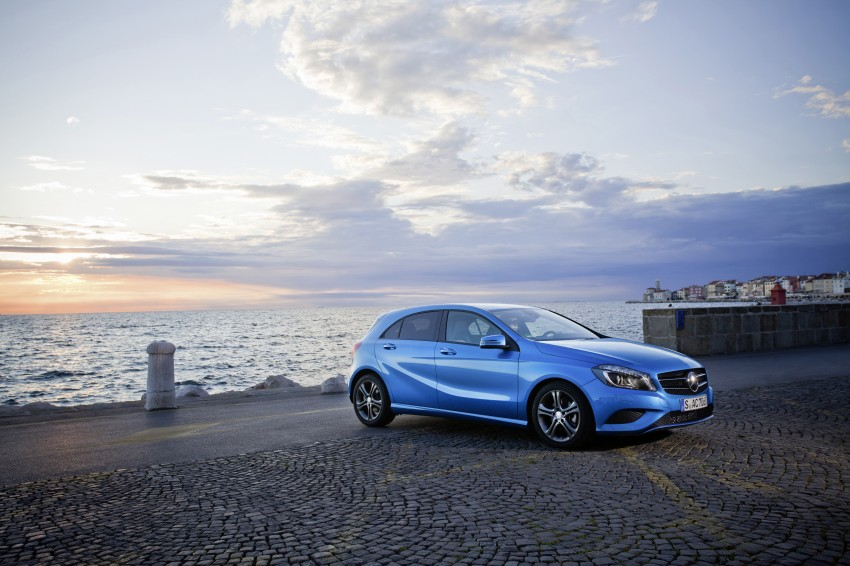 DRIVEN: W176 Mercedes-Benz A-Class – we sample the A200, A250 and A250 Sport in Slovenia Image #121784