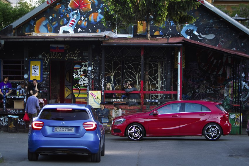 DRIVEN: W176 Mercedes-Benz A-Class – we sample the A200, A250 and A250 Sport in Slovenia Image #121785