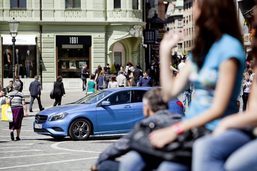 DRIVEN: W176 Mercedes-Benz A-Class – we sample the A200, A250 and A250 Sport in Slovenia Image #121787