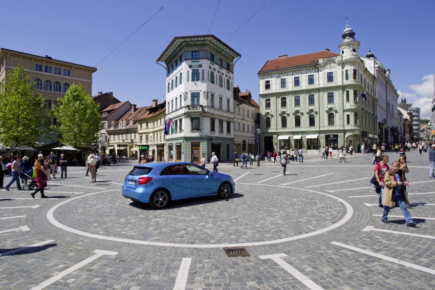 DRIVEN: W176 Mercedes-Benz A-Class – we sample the A200, A250 and A250 Sport in Slovenia Image #121789