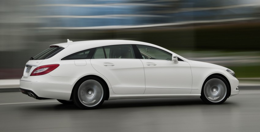 New Mercedes-Benz CLS Shooting Brake unveiled! Image #115396