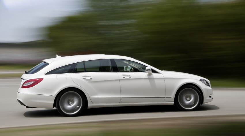 New Mercedes-Benz CLS Shooting Brake unveiled! Image #115395
