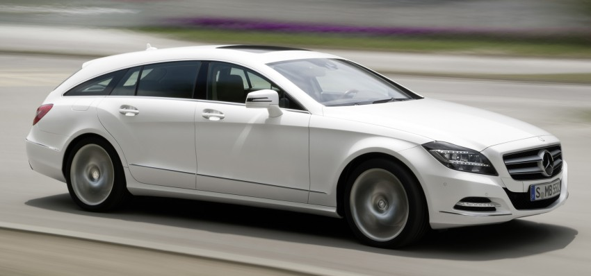 New Mercedes-Benz CLS Shooting Brake unveiled! Image #115394