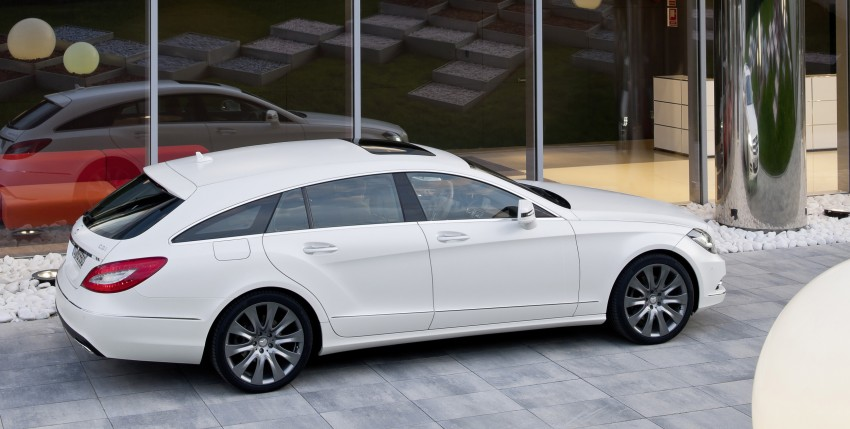 New Mercedes-Benz CLS Shooting Brake unveiled! Image #115393