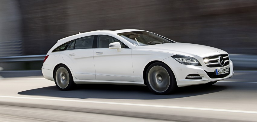 New Mercedes-Benz CLS Shooting Brake unveiled! Image #115377