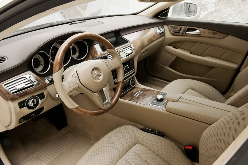 New Mercedes-Benz CLS Shooting Brake unveiled! Image #115383