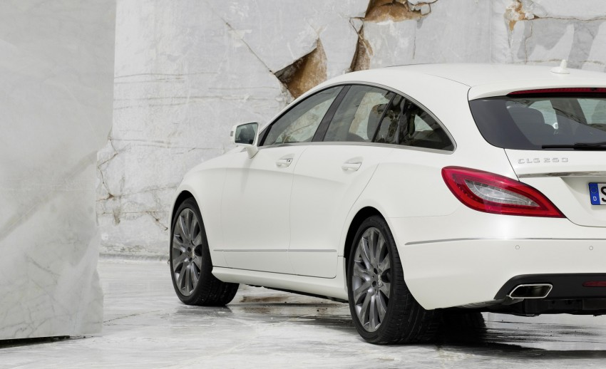 New Mercedes-Benz CLS Shooting Brake unveiled! Image #115367