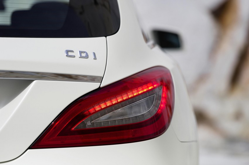 New Mercedes-Benz CLS Shooting Brake unveiled! Image #115392