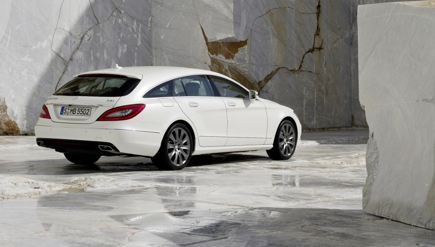 New Mercedes-Benz CLS Shooting Brake unveiled! Image #115386