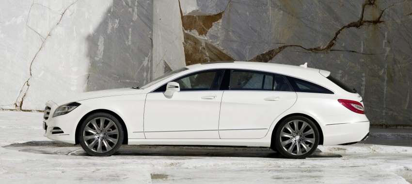 New Mercedes-Benz CLS Shooting Brake unveiled! Image #115385