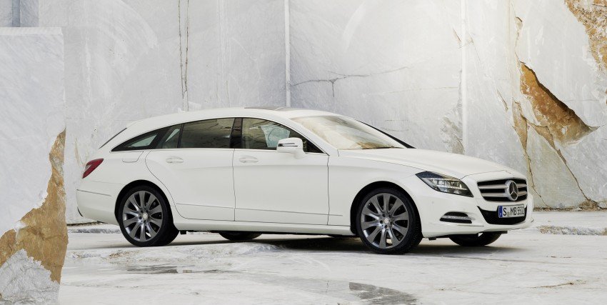 New Mercedes-Benz CLS Shooting Brake unveiled! Image #115374