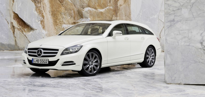 New Mercedes-Benz CLS Shooting Brake unveiled! Image #115380