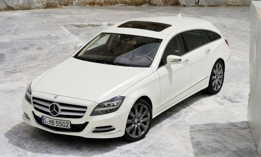 New Mercedes-Benz CLS Shooting Brake unveiled! Image #115379