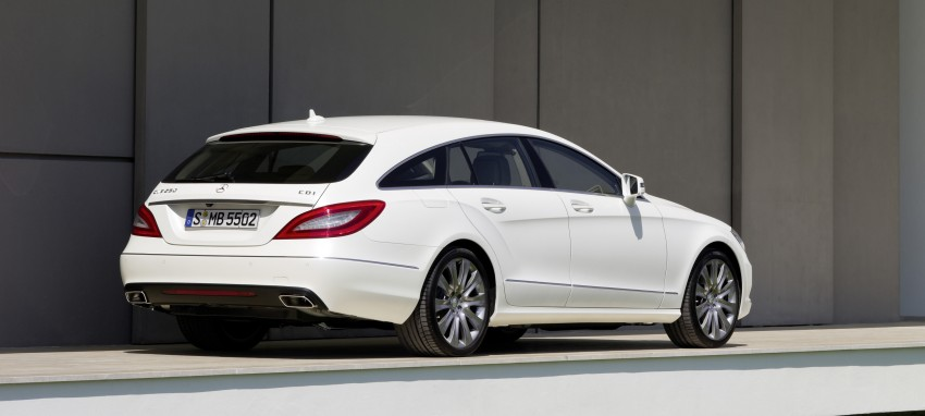New Mercedes-Benz CLS Shooting Brake unveiled! Image #115372