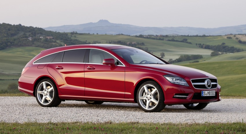 New Mercedes-Benz CLS Shooting Brake unveiled! Image #115375