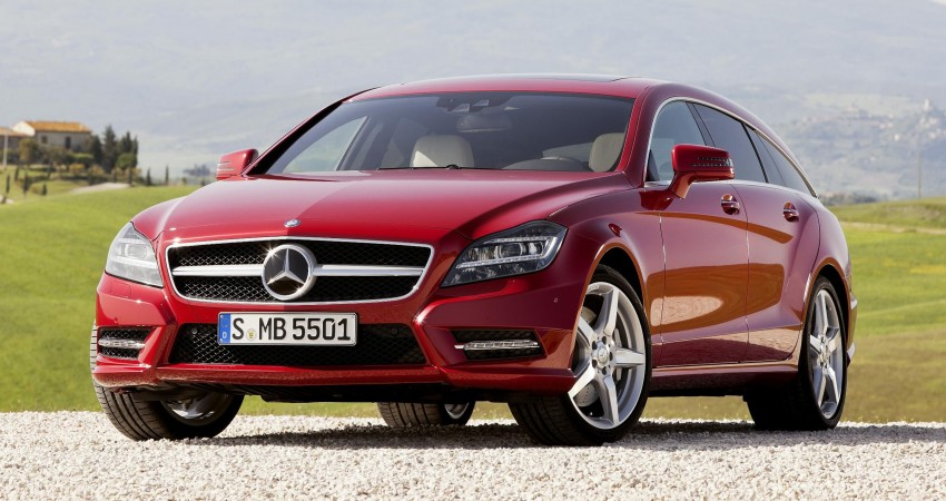 New Mercedes-Benz CLS Shooting Brake unveiled! Image #115382