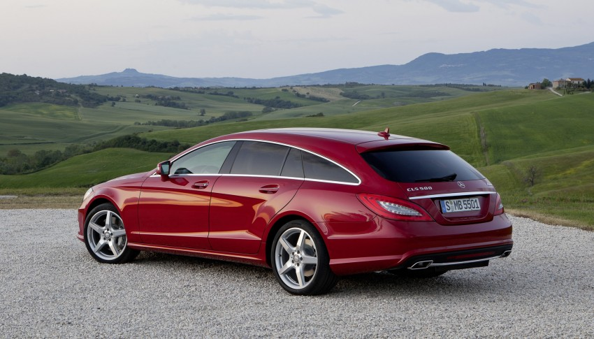 New Mercedes-Benz CLS Shooting Brake unveiled! Image #115369