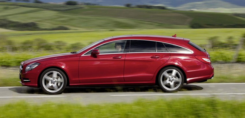 New Mercedes-Benz CLS Shooting Brake unveiled! Image #115373