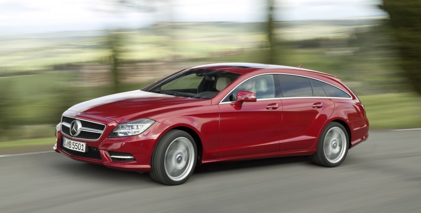 New Mercedes-Benz CLS Shooting Brake unveiled! Image #115368