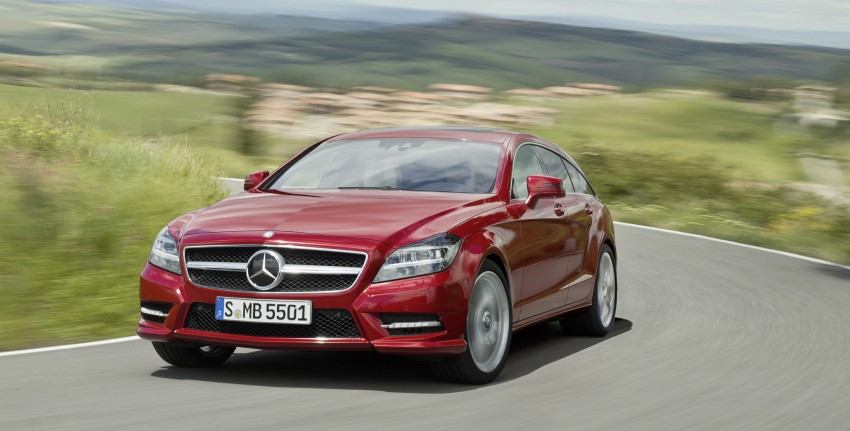 New Mercedes-Benz CLS Shooting Brake unveiled! Image #115370