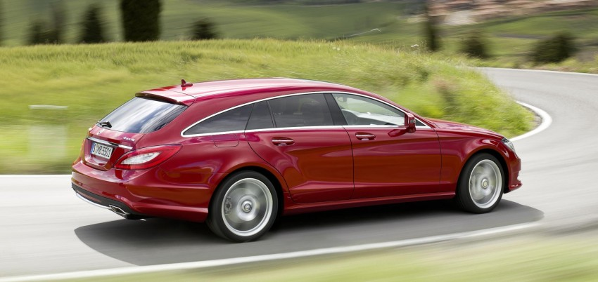New Mercedes-Benz CLS Shooting Brake unveiled! Image #115378