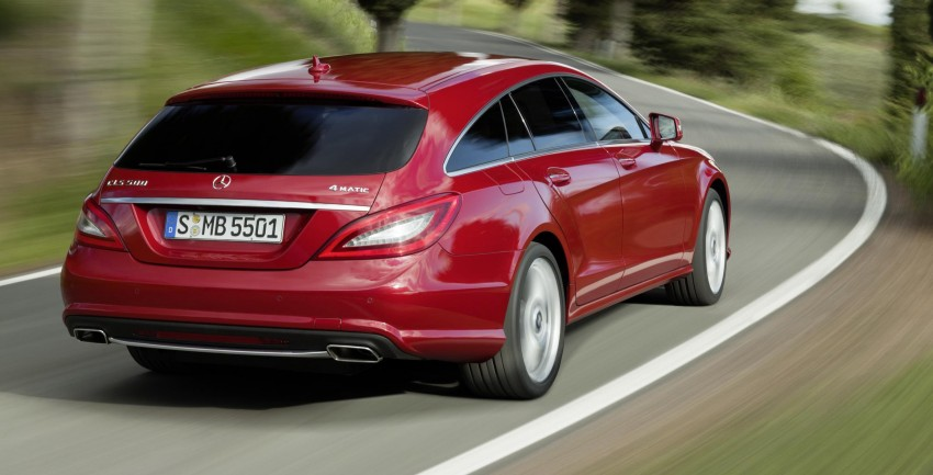 New Mercedes-Benz CLS Shooting Brake unveiled! Image #115376